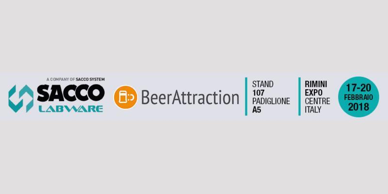Sacco Labware at BeerAttraction 2018