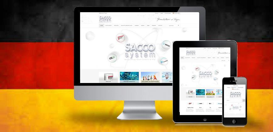 The German version of the site is on line ! 1
