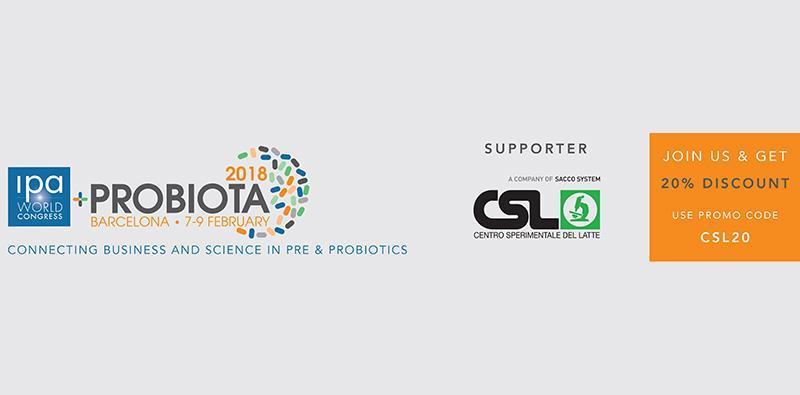 CSL will be supporter of Probiota also this year 1