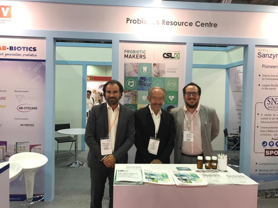 A big success at Vitafoods Asia in Singapore