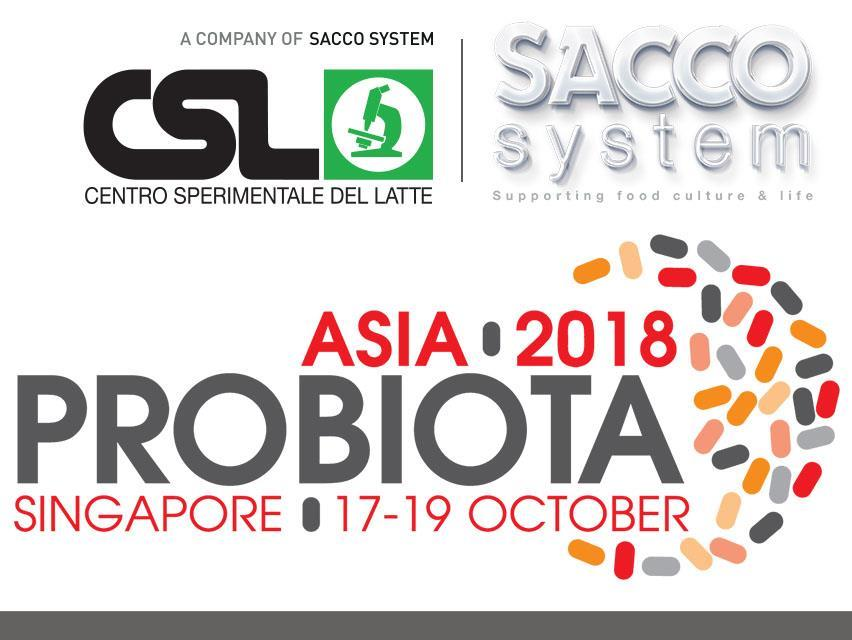 CSL will be at PROBIOTA Asia 2018, Singapore, October 17-19