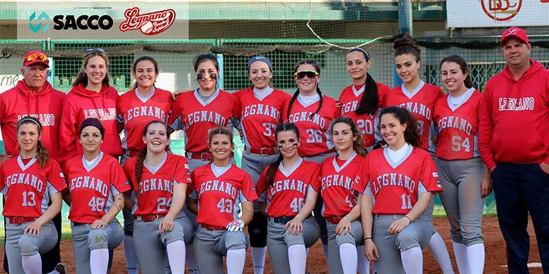 SACCO PROBIOTICS FOR LEGNANO BASEBALL SOFTBALL