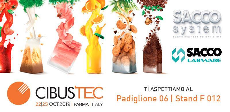 Sacco Labware at CIBUSTEC in Parma, 22-25 October 2019 1