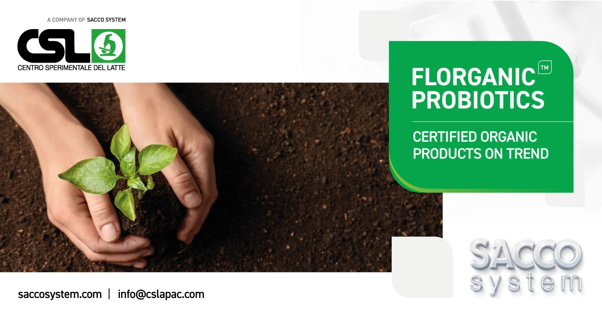 CSL Launches New Certified Organic Products – FLORGANIC™ Probiotics