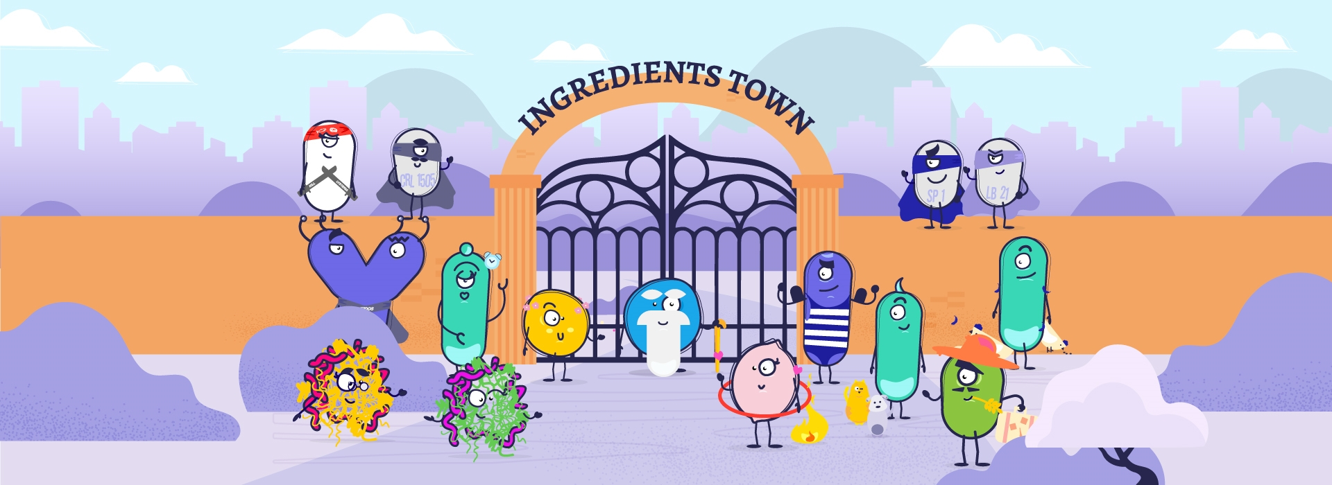 Descubre INgredients Town