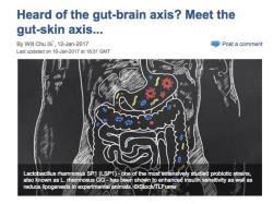 Heard of the gut-brain axis? Meet the gut-skin axis... 1