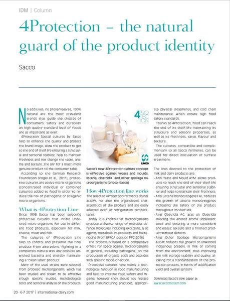 4Protection - International Dairy Magazine 1